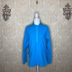 BOGO Eddie Bauer fleece half zip pullover sweater
